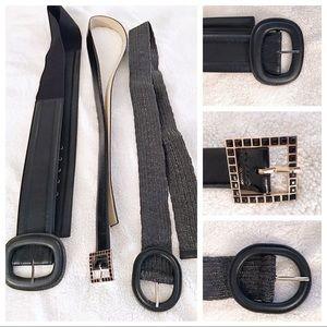 Accessories - Bundle of 3 Plus Size Belts!